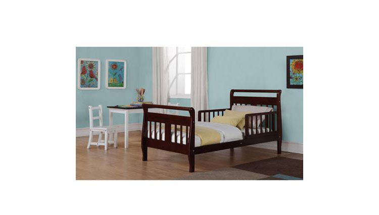 separation shoes 42048 8d34c $10 Off Baby Relax Sleigh Toddler Bed