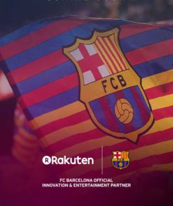 Rakuten and FC Barcelona Partnership